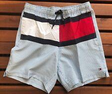 Tommy Hilfiger Boys Striped Flag Swim Short - 14-16 Years - UB0UB00086-986
