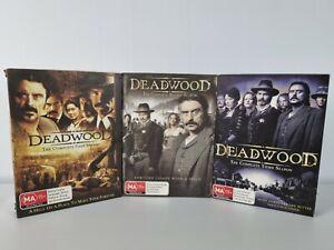 Deadwood Complete Season 1, 2 & 3 DVD