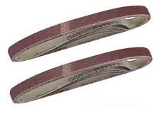 Aluminium Oxide Abrasive Sanding Belts 13mm x 457mm 60 GRIT - Pack of 5