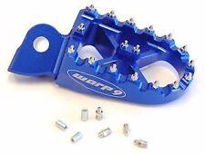 Yamaha WR250R/X Dual Sport Billet Foot pegs w/Springs- Blue Warp 9