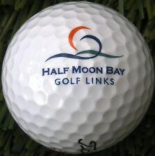 New Logo Golf Ball -    Half Moon Bay G R / Ocean , CA - 1997  /  Arthur Hills