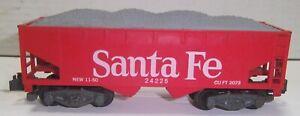 American Flyer 24225 Santa Fe Hopper Ex+ Clean NO RESERVE !