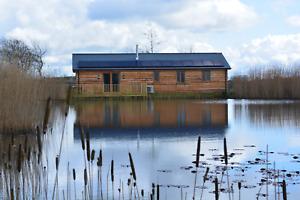 North Devon Luxury Lodge HALF PRICE XMAS HOLIDAY 21st-28th December free fishing