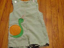 Boys 9 month? green white snail jon jon