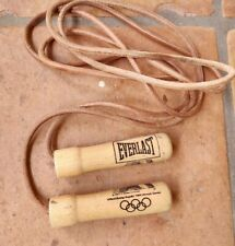 Vintage EVERLAST PRO Jump Rope #4477 Weighted Handles 9.5ft
