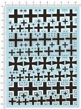 decals German marks cross for 1/72,1/48,1/32 or other scale A(399)
