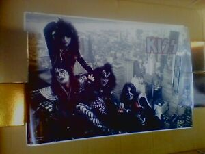 1977 (Original) Kiss Aucoin (Empire State Building) Poster