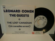"leonard cohen""the lost canadian""single7"".or.fr.cbs:8010.promo juke-box + encart"