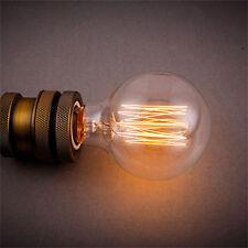 110V 40W Light Bulb Squirrel Cage Filament E26 Base Vintage Retro Edison
