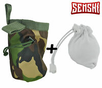 Senshi Japan Weight Lifting Rock Camo Climbing Chalk Bag With Chalk Ball FREE