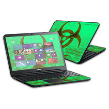 "Skin Decal Wrap for Dell Inspiron 15 i15RV Laptop 15.6"" Biohazard"