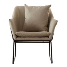 Stockholm Chair, Stone Fabric, Metal Legs