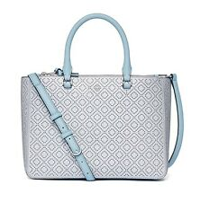 TORY BURCH Authentic+New ROBINSON PERFORATED MULTI TOTE $550.00