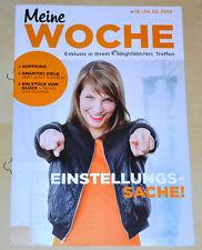 Weight Watchers Meine Woche 18.5 - 24.5 ProPoints Plan 2014 Wochenbroschüre NEU*