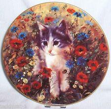 Kätzchens Gartenfreuden 3. Bradex Katzen Sammelteller = FELIX' erstes Abenteuer