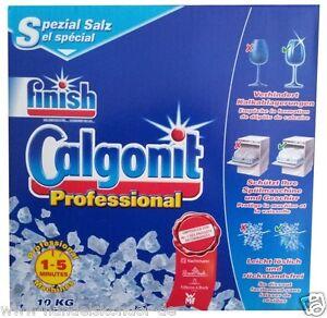 finish Calgonit Salz Spezial-Salz Inhalt: 10kg Spezialsalz für Spühlmaschine NEU