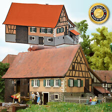 SH Busch 1504 Bauernhaus Schwarzenweiler Echtholz Bausatz
