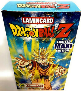 Dragon Ball Z 2020 Lamincards Limited Maxi Edition Box 10 Bustine
