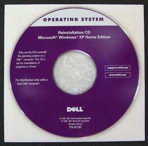 OEM DELL OPERATING SYSTEM REINSTALLATION CD MICROSOFT WINDOWS XP HOME