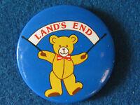 Lands End - Button Badge - 1980's?