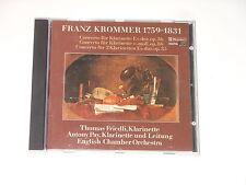 Thomas risolutamente-Clarinet-CD-Krommer - Concertos-claves Giappone 1986