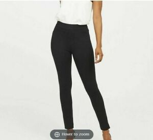 New Spanx Black The Perfect Backseam Skinny Ankle Pants, Size Medium