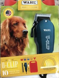 Clipper Trimmer Wahl Professional Animal Like Dogs Cats U-Clip Pet Grooming Kit