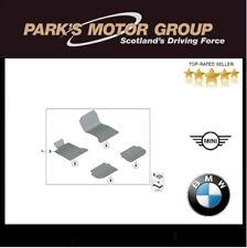 BMW Genuine Interior Velours Floor Mats For 5 Series F10 F11 51477351384