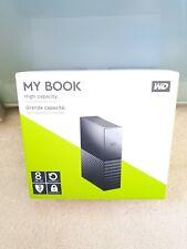 Western Digital My Book 8TB Desktop Hard Drive