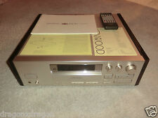 Kenwood DR-W1 High-End CD-Recorder, inkl. FB&BDA, top gepflegt, 2J. Garantie