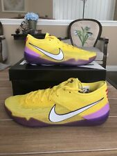 NEW NIKE KOBE A.D. NXT 360 Lakers Yellow Strike MAMBA DAY 1 4 5 6 8 9 SIZE 11