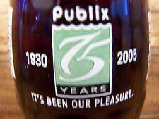 Publix 75 YEARS 1930 - 2005, IT'S BEEN OUR PLEASURE, 1 - 8 Oz Coke Bottle