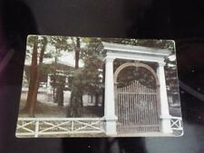 1917 Golden Gate St Paul's Grove Chautauqua Institution New York Vntg Postcard d