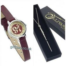 Brand New Official Genuine Harry Potter Platform 9 3/4 Watch & Harry Potter Wand