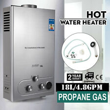 18L 5GPM Hot Water Heater Boiler Propane Gas Instant Tankless Boiler LPG