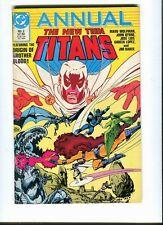 New Teen Titans (vol 2) Annual 2 DC 1986 - FN / VF