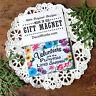 Volunteers are the Flowers in Life's Garden * DecoWords Magnet Volunteer USA New