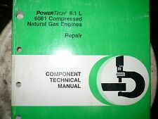 John Deere Technical Manual for PowerTech 8.1 6081 compressed Natural gas engine