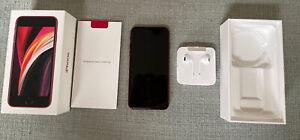 Apple iPhone SE 2nd Gen. (PRODUCT)RED - 64GB (Unlocked) w/ Original Box