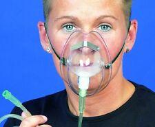 2 x Sauerstoffmaske Erwachsene O2 Maske Sauerstoff Maske 02 Mask + Schlauch NEU