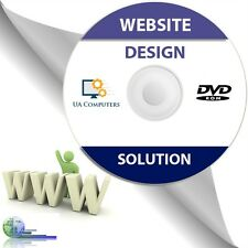 Website Web Page Builder Design Suite Software Disc