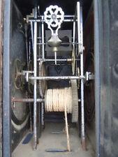 Horloge pendule mécanisme de comtoise sonnerie sur gong d'époque 19ème