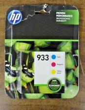 HP 933 Tri-Color Ink  cartridges  N9H56FN Exp. 07/2019 NEW SEALED Retail Package