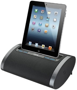 iHome Speaker Rechargeable Portable Stereo Dock Lightning Connection  iDL48