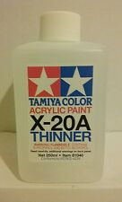 Tamiya acrylic thinner X-20A 250ml