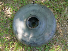 1920's 1930's Plymouth spare tire cover Antique Continental Kit with mounting