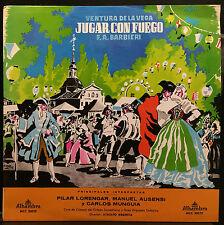 Argenta Barbieri Jugar con fuego LP Mint- 1965 Alhambra MCC 30029 Colombia Mono