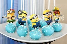 Minions Cake Pops Toppers, Cupcakes Toppers and Cake Topper - PRINTABLE