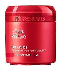 masque wella brilliance cheveux colorés soin couleur cheveux fins normaux 150 ml
