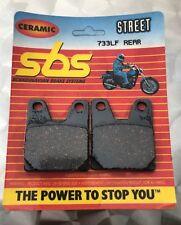 SBS 733 LF Bremsbeläge Yamaha YZF R1, RN01, RN04, 98-01, hinten, organisch
